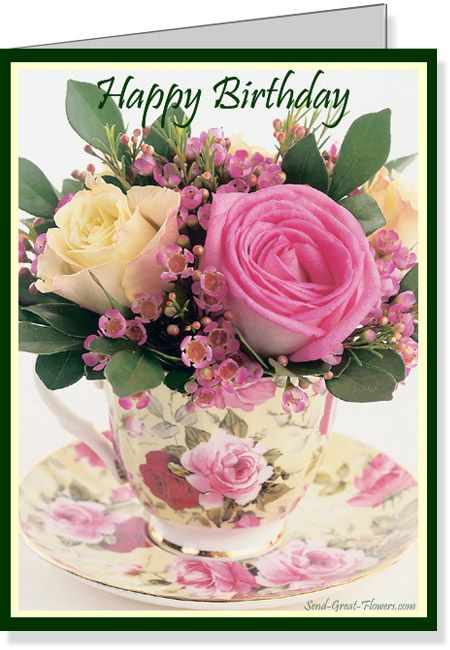 Free Birthday Card Images | My Birthday | Pinterest | Free