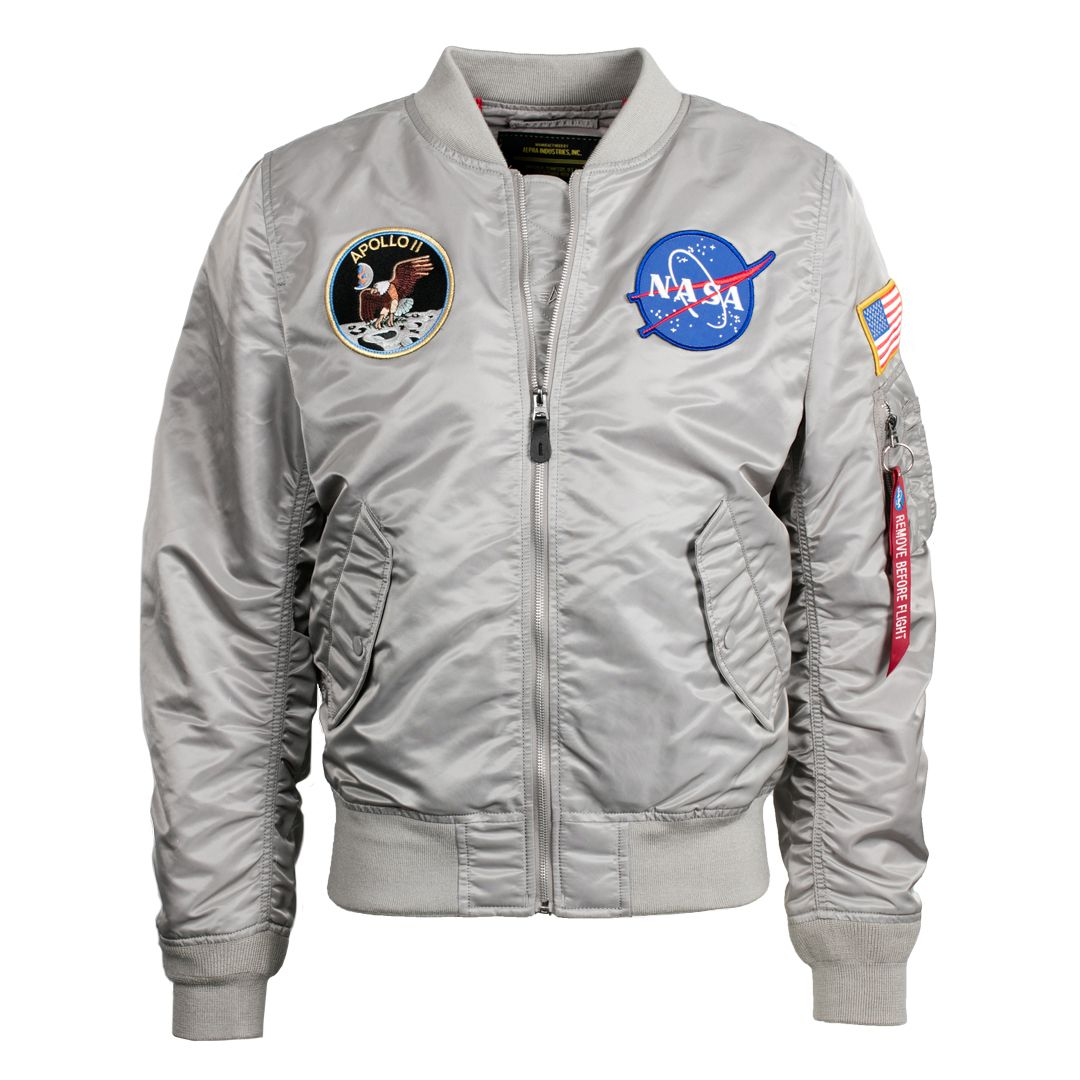 61a50438d L-2B Apollo Bomber Jacket | Clothes | Nasa jacket, Nasa bomber ...