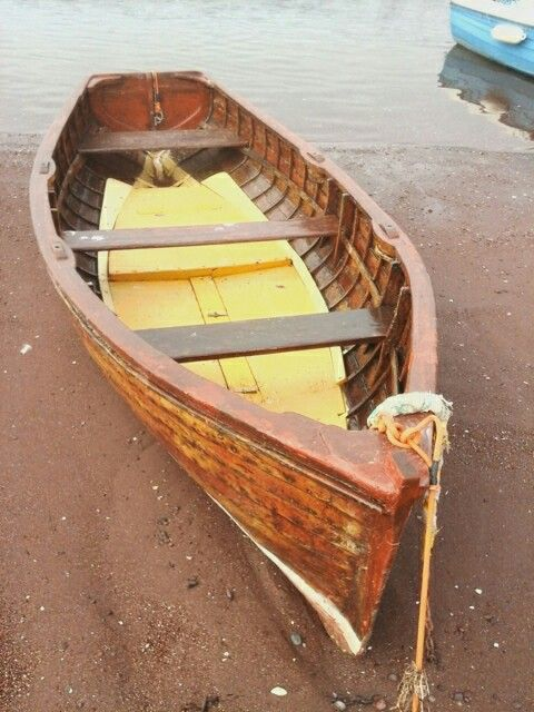 Rowing boat, Teignmouth beach 19th October Monday taken by Amanda.