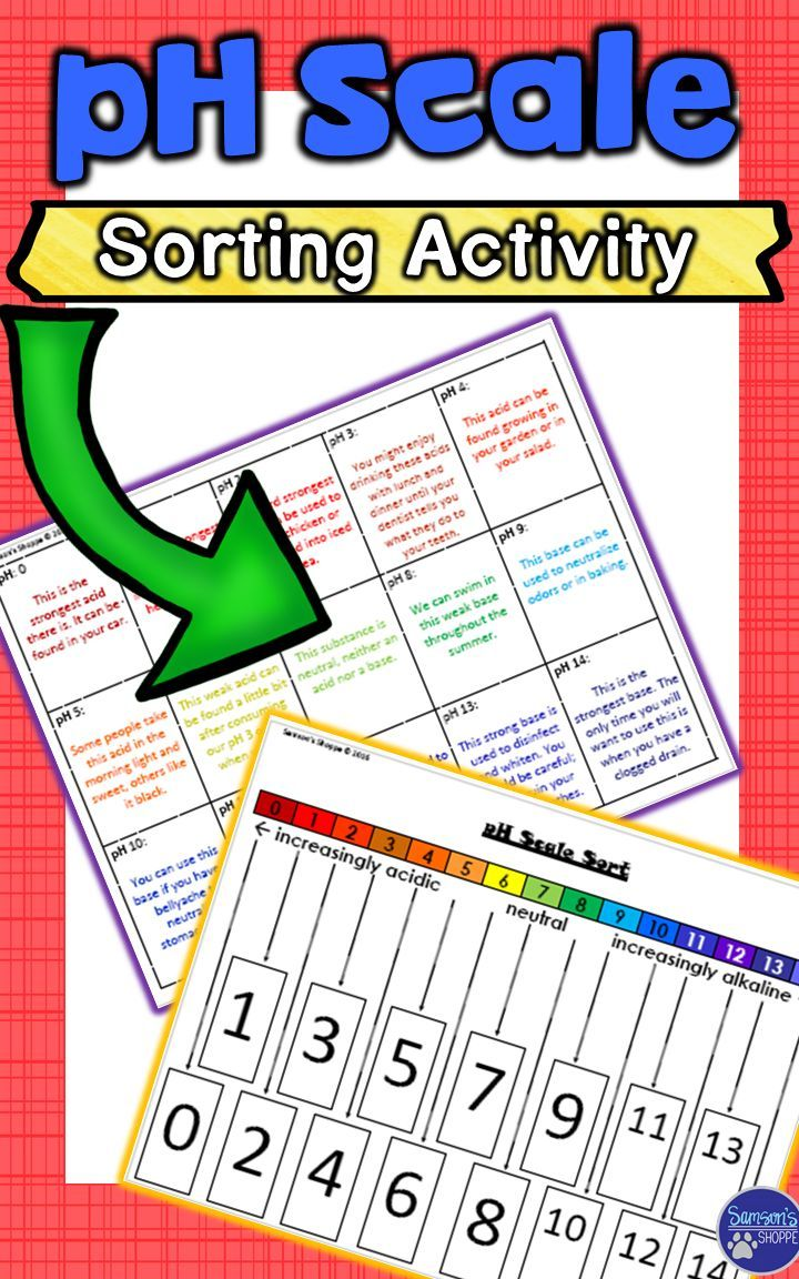 small resolution of This resource is designed to help enhance your acids and bases unit when  cove…   Science lessons elementary
