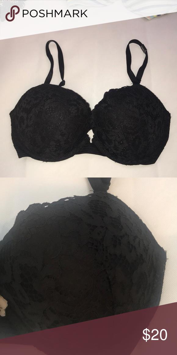 7ceeba0851f Victoria Secret's Very Sexy Push- Up Pigeonnant Black Lace , NWT Victoria's  Secret Intimates & Sleepwear Bras