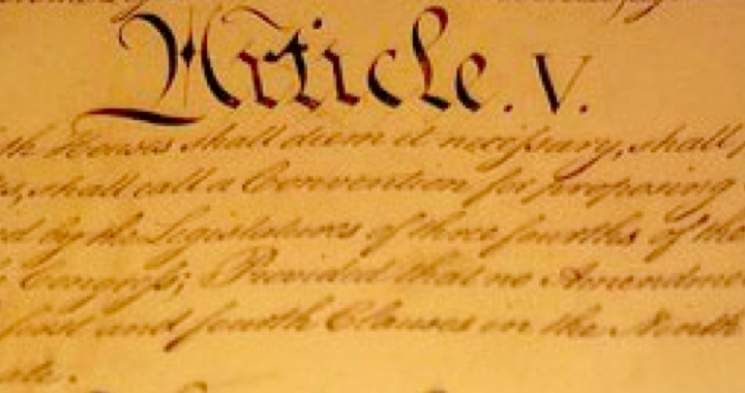 "Assembly of State Legislatures Changes Article V Text in Call for ""Convention of States"""