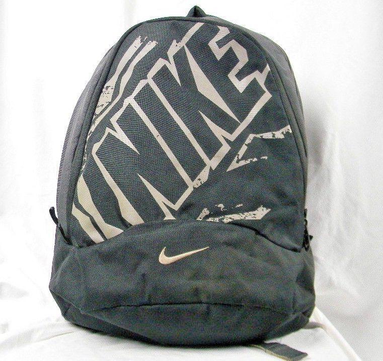 8341c48d Nike Graphic Backpack Black & Grey 16