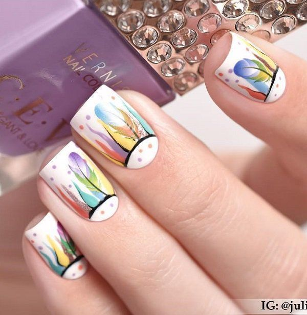 70 #quadratische #Nagelkunstideen ##Acryl ##Nagel ##bruiloft ##makkelijk ##glitt…