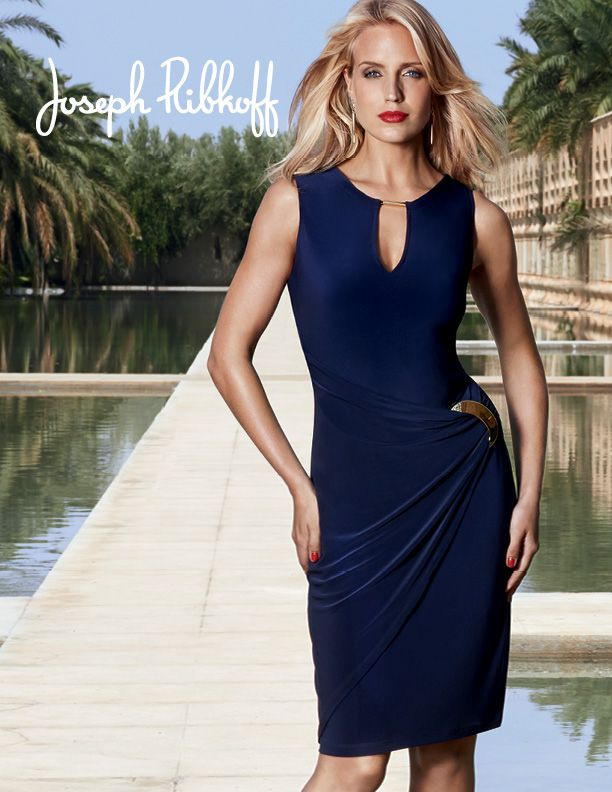b7fcdbe64bea Dress style-40004 available at Bellissima | Joseph Ribkoff ...