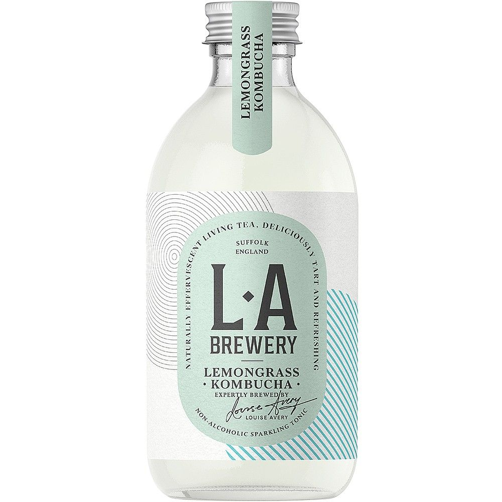 LA Brewery Lemongrass Kombucha (300ml) | Fresh drinks | Planet ...