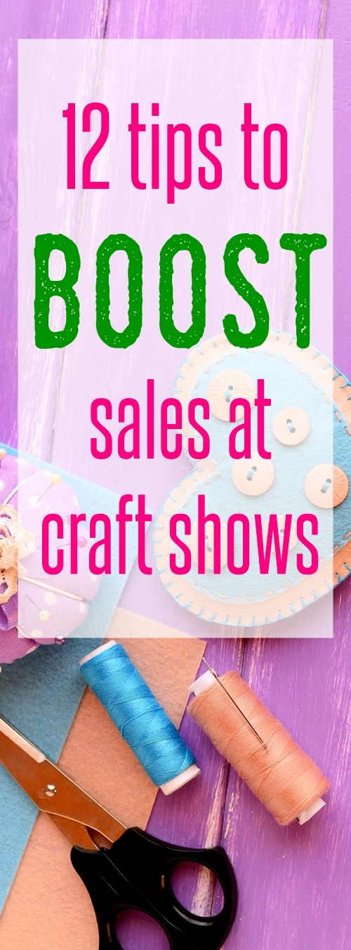 Top Tips to Rock Craft Booth Sales #gypsysetup