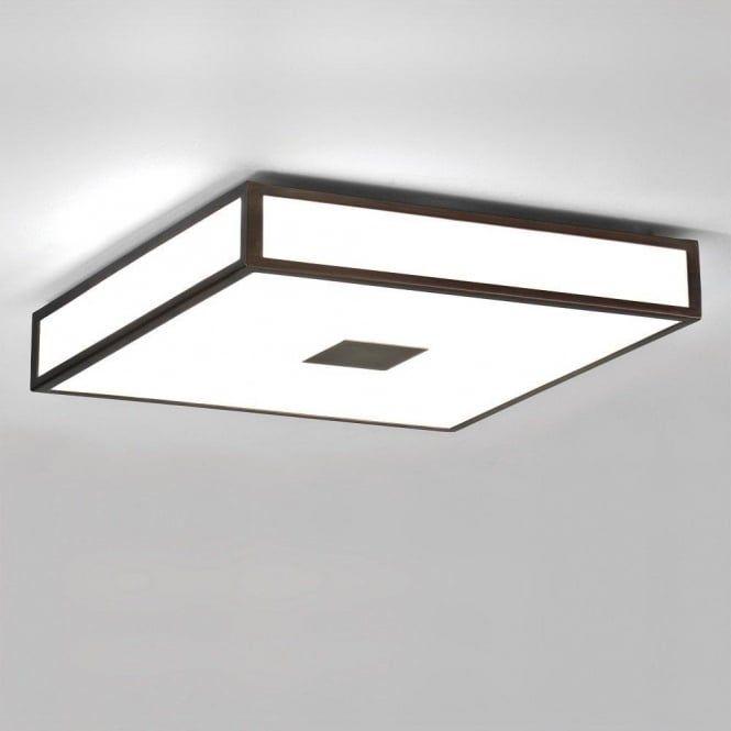 Mashiko Flush Fitting Ip44 Bathroom Ceiling Light Large