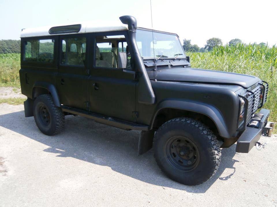 Defender Matte Black Land Rover Land Rover S Car Monster