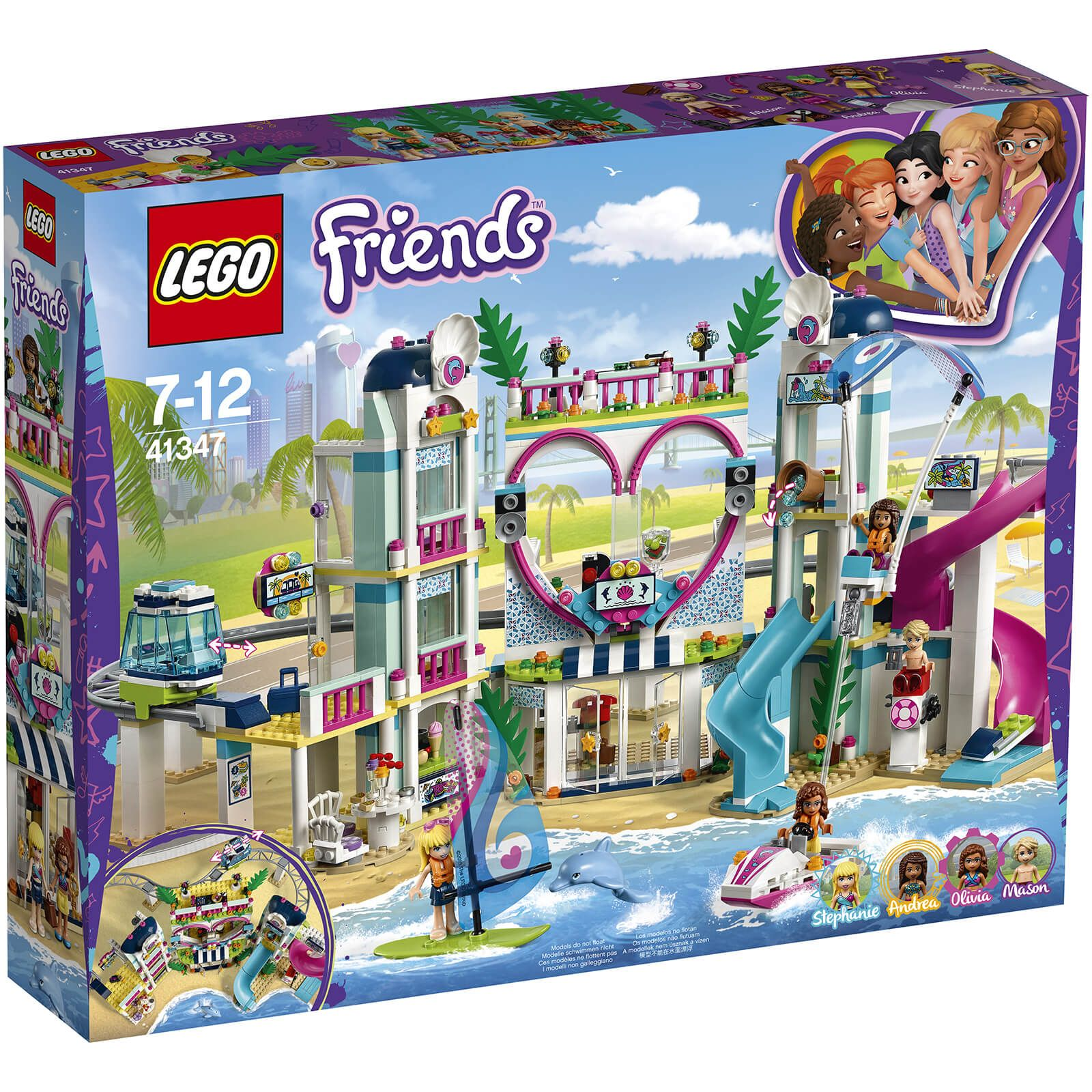 Retired New in Sealed Box LEGO 41347 Friends Heartlake City Resort