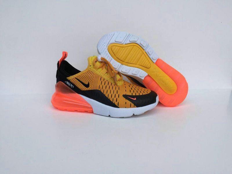 Nike Air Max 270 Kids Yellow Black