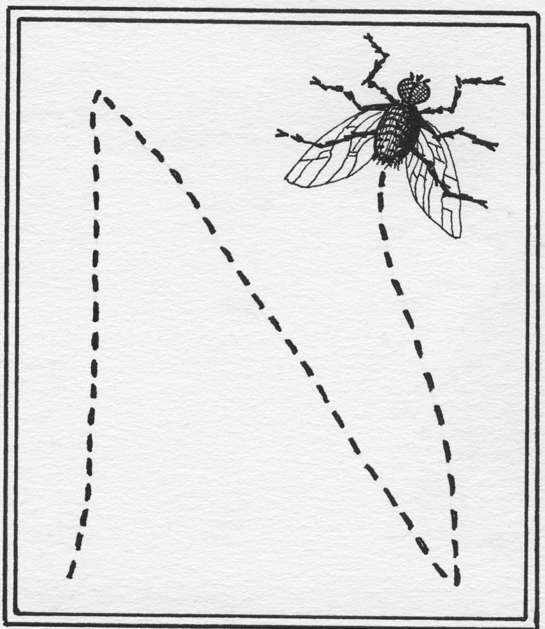 Secret Alphabet 'N' No.1 1971