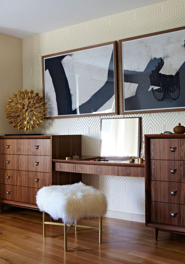 Brooklyn apartment with a sleek bohemian edge interior - Brooklyn apartment interior design ...