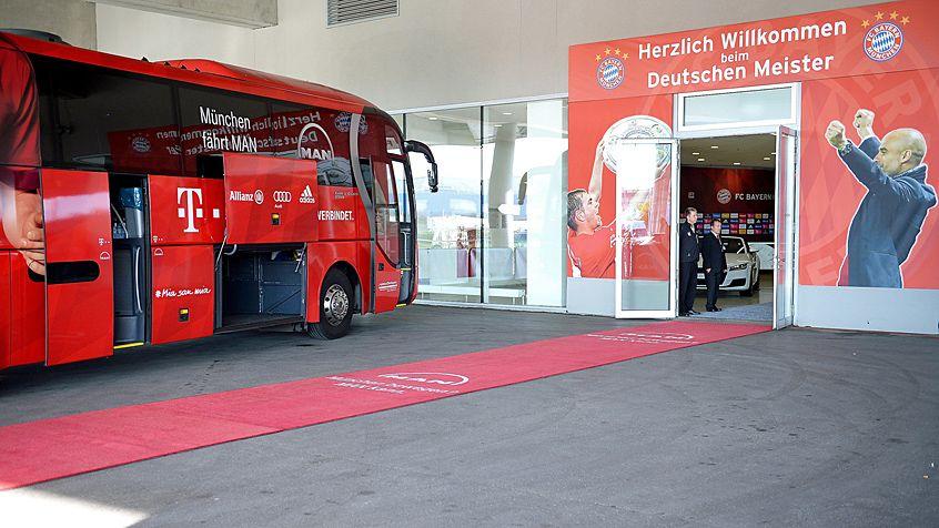 FC Bayern Muenchen bus