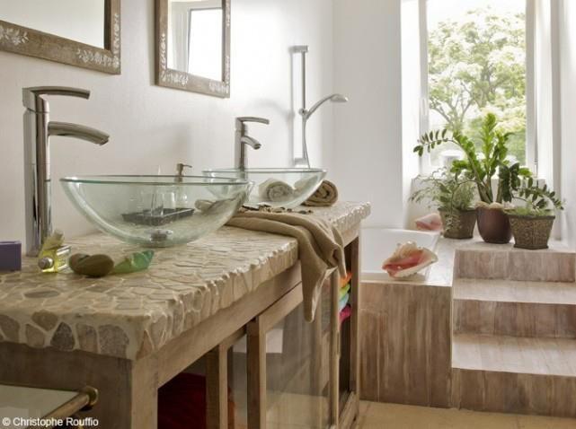 Zen bathroom / salle de bains zen