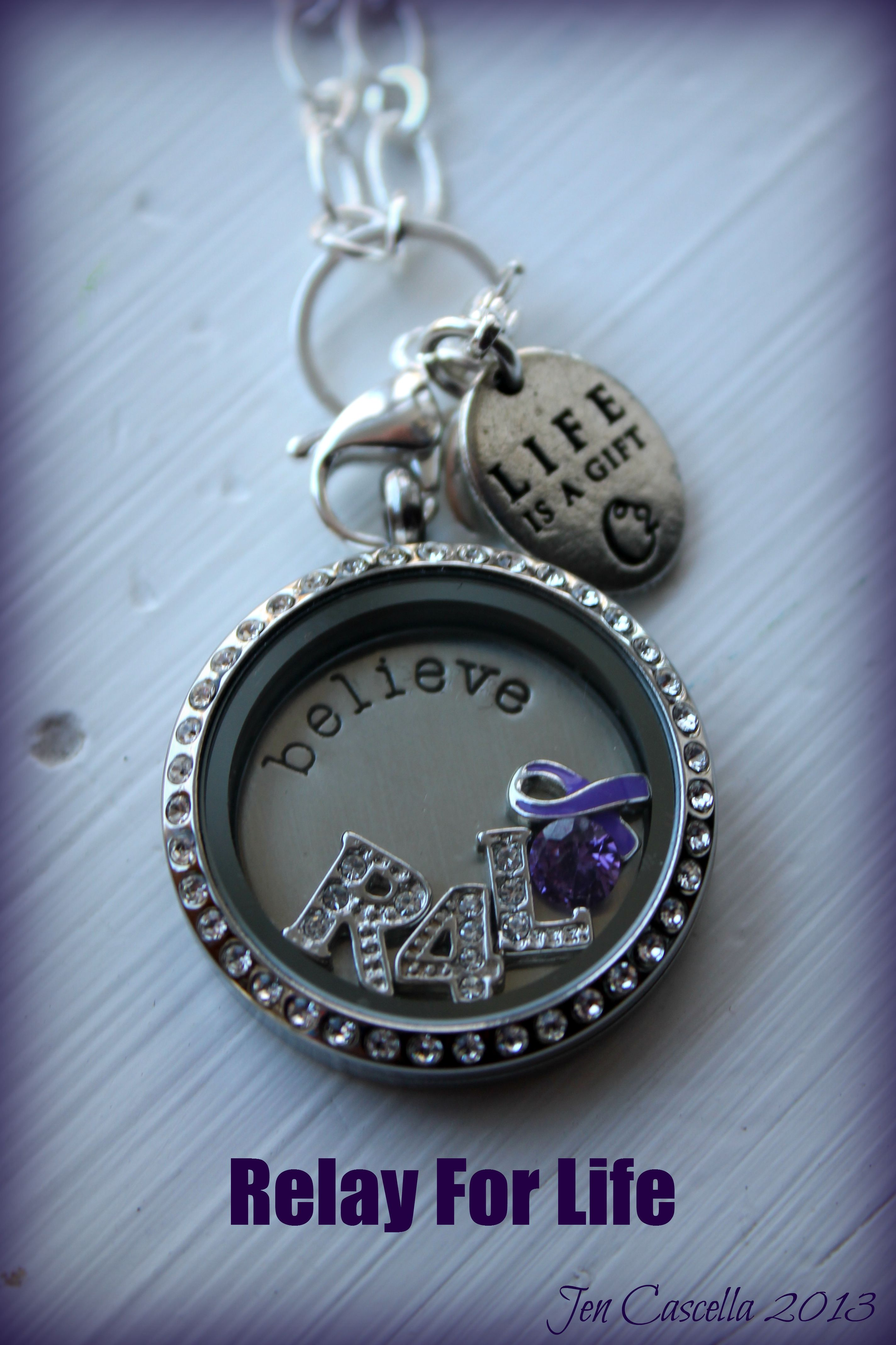 Relay for life Origami Owl Living Locket | Origami Owl ... - photo#10