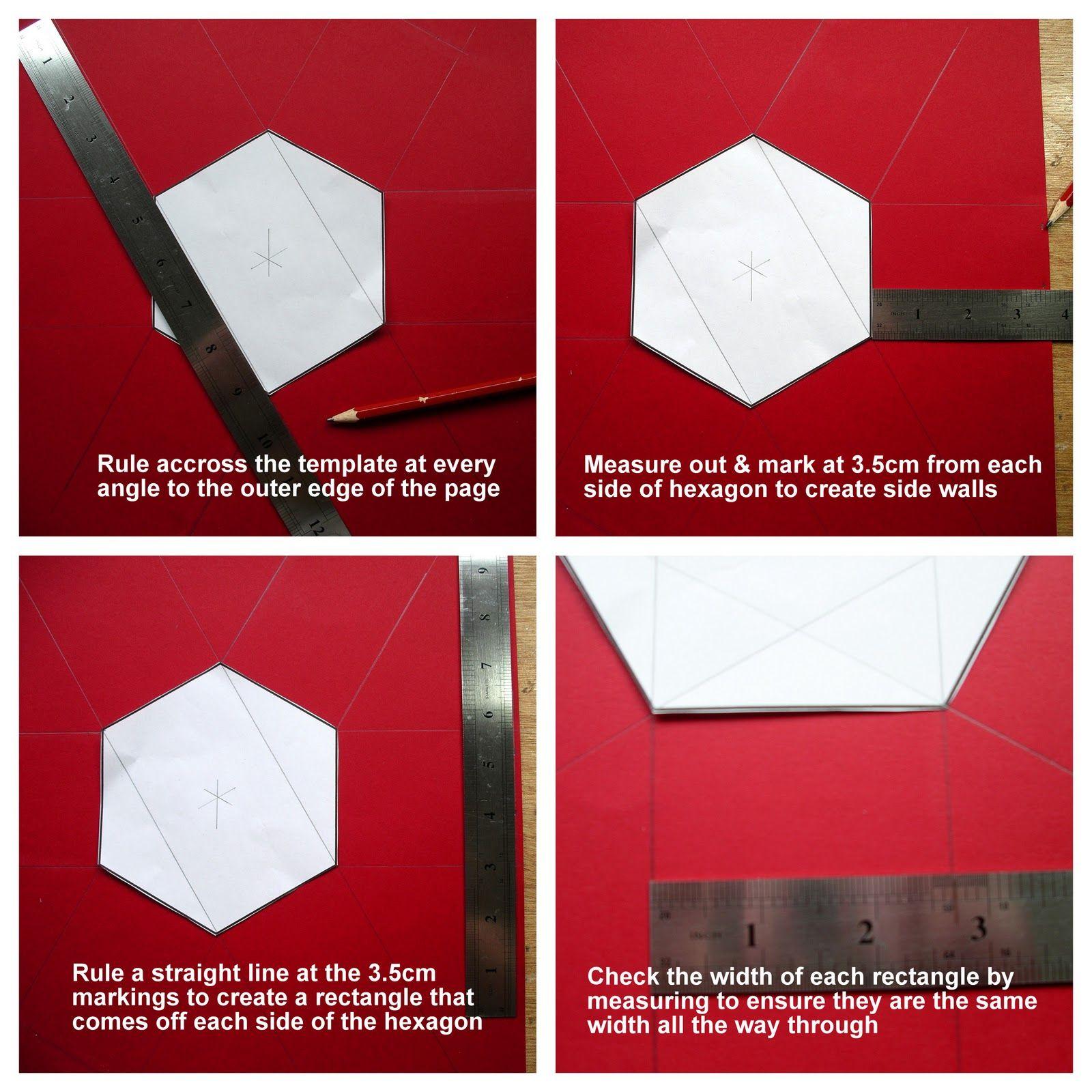 Hi Everyone Today I Am Going To Share A Tutorial For My Hexagonal Exploding Box I Originally Designe Exploding Boxes Diy Exploding Box Explosion Box Tutorial