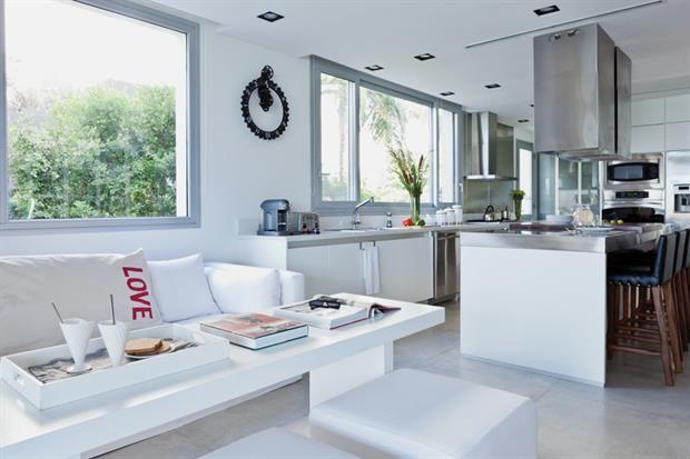 Cocina Y Sala De Estar Todo En Uno Home Decor Home Kitchen
