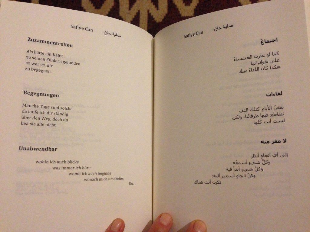 Safiye Can Gedichte Arabisch Deutsch übersetzung Fouad El Auwad (4)