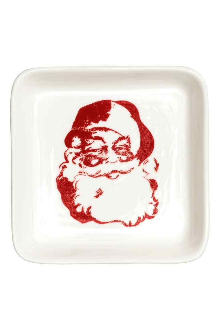 Schaaltje met kerstmotief ceramics ceramic plates and hum