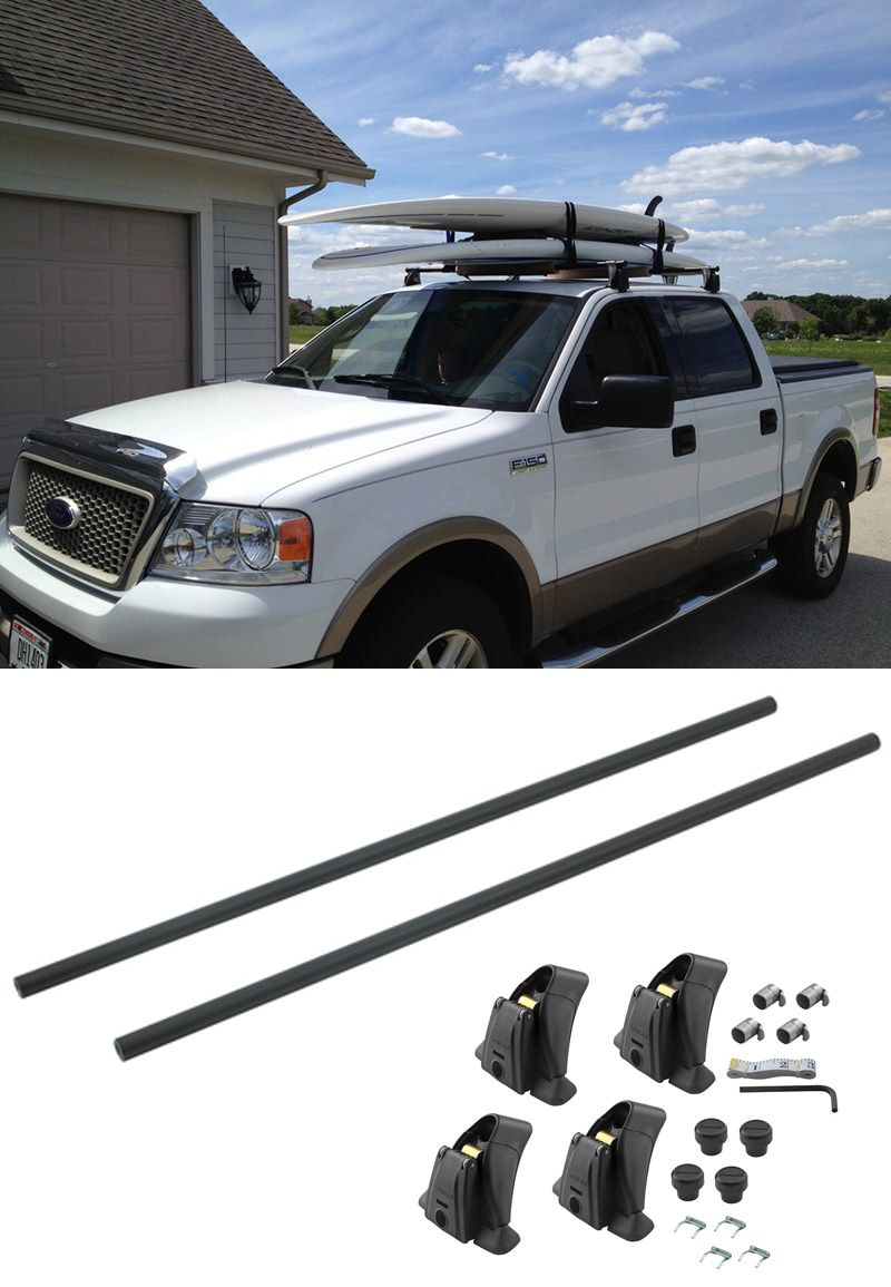 Round 58 Crossbars For Yakima Roof Rack System Qty 2 Yakima Roof Rack Y00409 Truck Roof Rack Roof Rack Ford Trucks F150