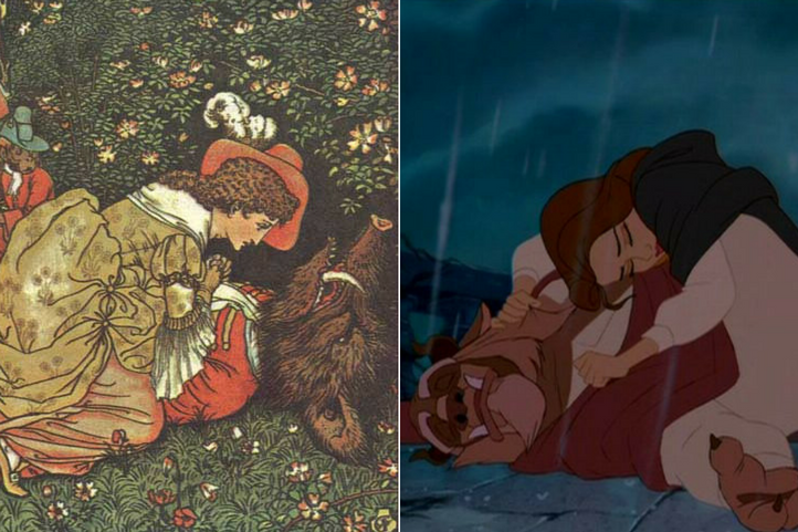 Belle mourns the beast