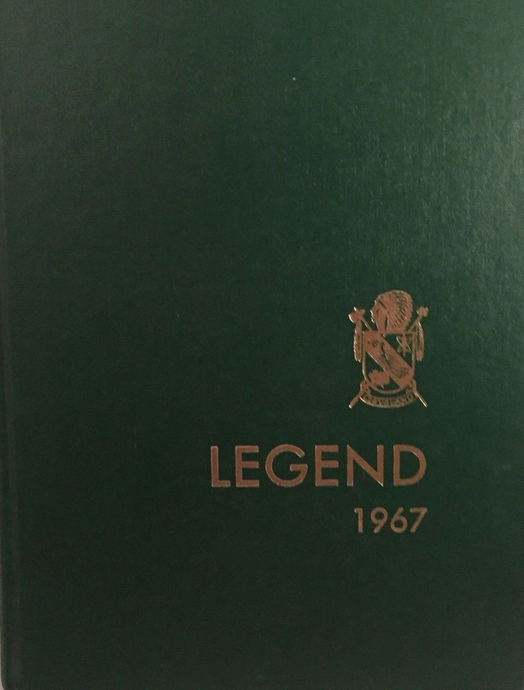 1967 Grover Cleveland High School Yearbook Legend Portland