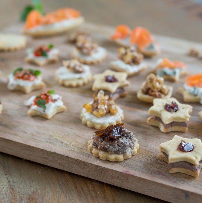 Herzhafte Weihnachtsplätzchen oder meine Amuse-bouches für die Feiertage | | Rezept | Französisch kochen