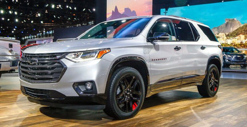 2019 Chevy Traverse Design At Autoshow Traverse 2019chevrolet