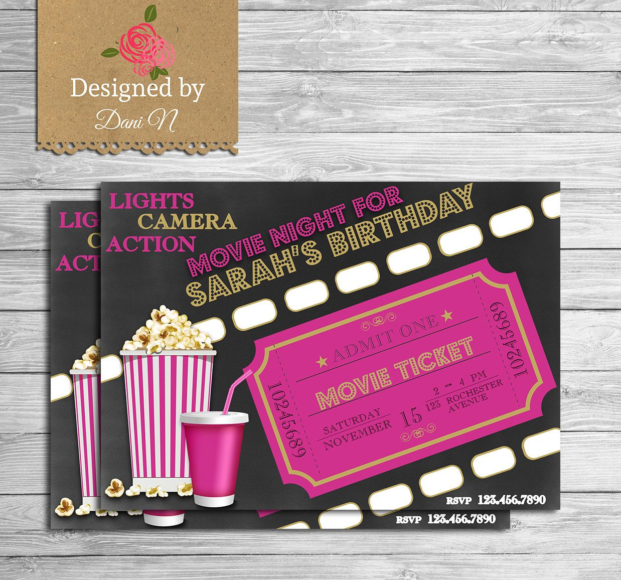 movie invite