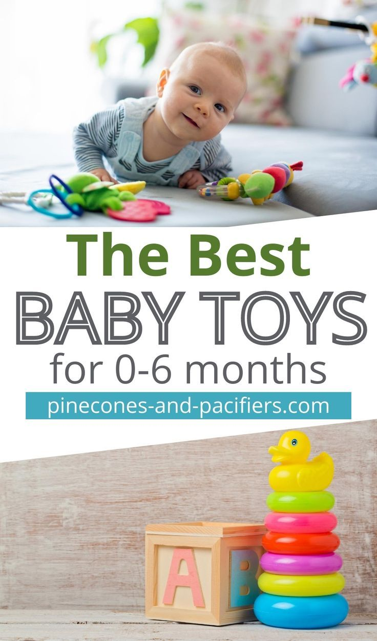 Best baby toys for 06 months pinecones pacifiers in