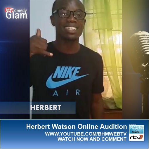 Herbert Watson BHM® Comedy Glam™ Online Audition.
