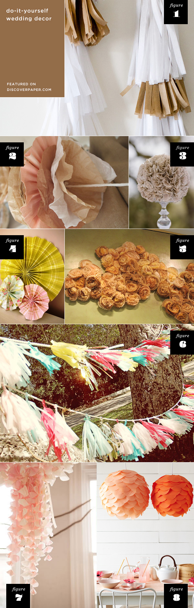 Diy wedding decor ideas featured on discoverpaper i think you