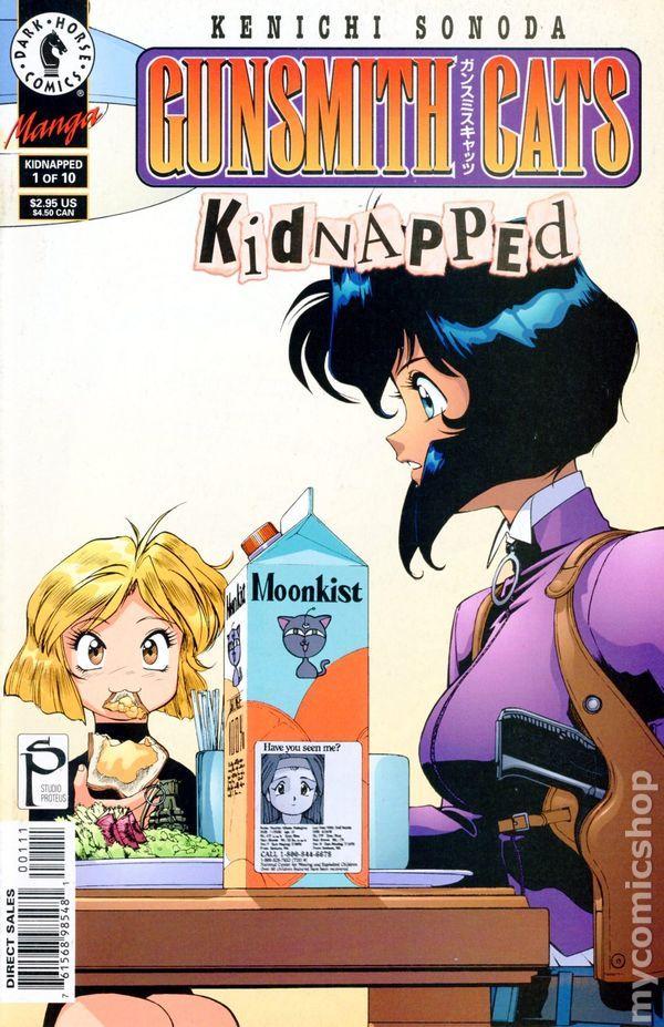 Gunsmith Cats Kidnapped (1999) 1 Character design