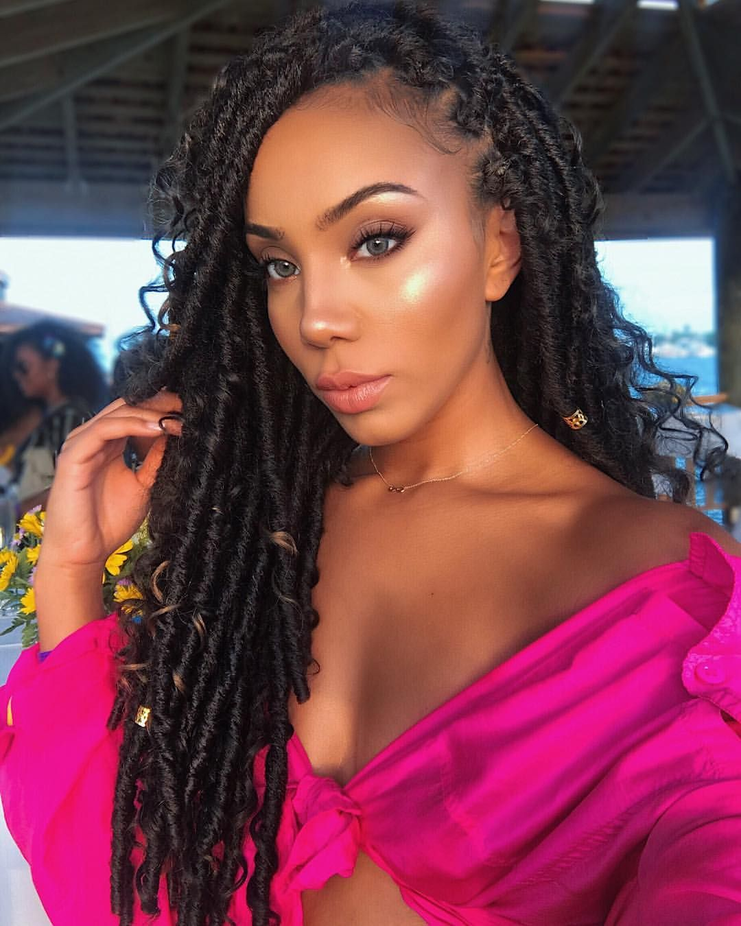 Locs Are Terribly Time Consuming But So Cool Youll Want