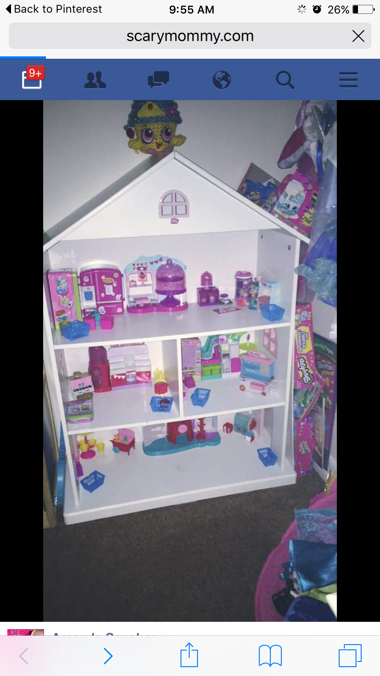 Shopkins Playhouse Kid Decor Play Houses Shopkins