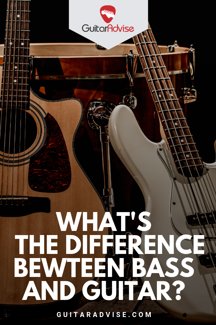 Is Bass Easier Than Guitar And What S The Difference Guitar Learn Music Theory Learn Guitar
