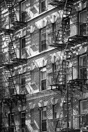 'Buildings - Stairs - Emergency - New York City - United States' Photographic Print - Philippe Hugonnard | AllPosters.com