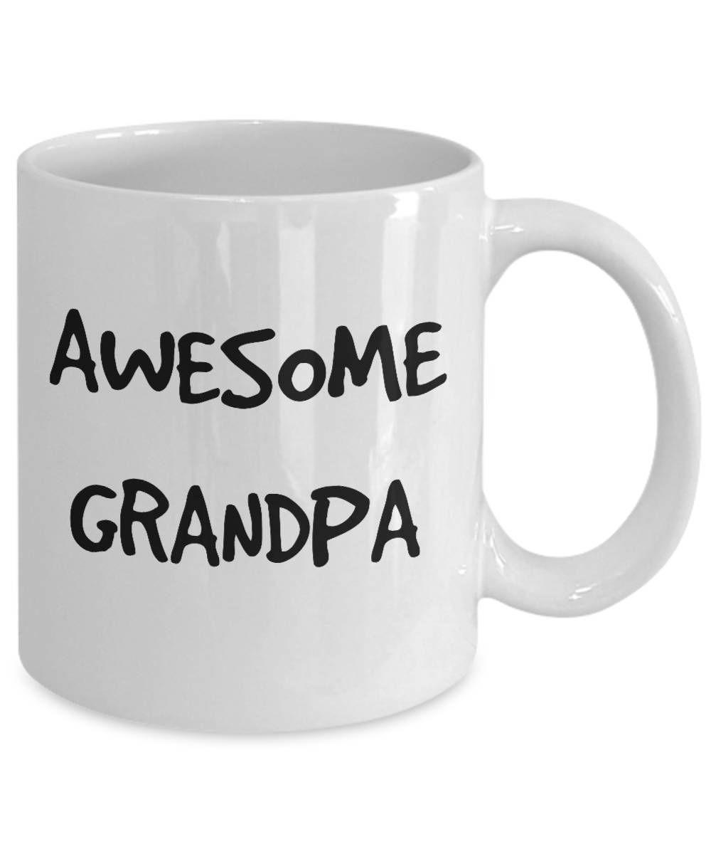 Awesome grandpa mug new grandpa gift for grandpa coffee