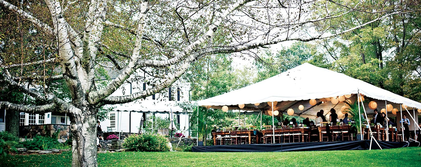 The Elegance And Rustic Nature Of Winvian Farm Makes It Ultimate Venue For A New England Wedding Reception
