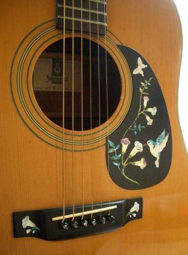 assorted hummingbird abalone blue inlay stickers decals pickguard guitar ebay guitars. Black Bedroom Furniture Sets. Home Design Ideas
