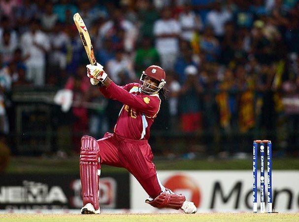 Gayle's unbeaten 100 helps West Indies defeat England