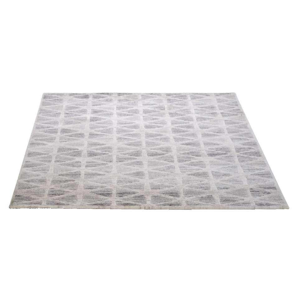 Vloerkleed Firenze  grijs  160x230 cm  Leen Bakker