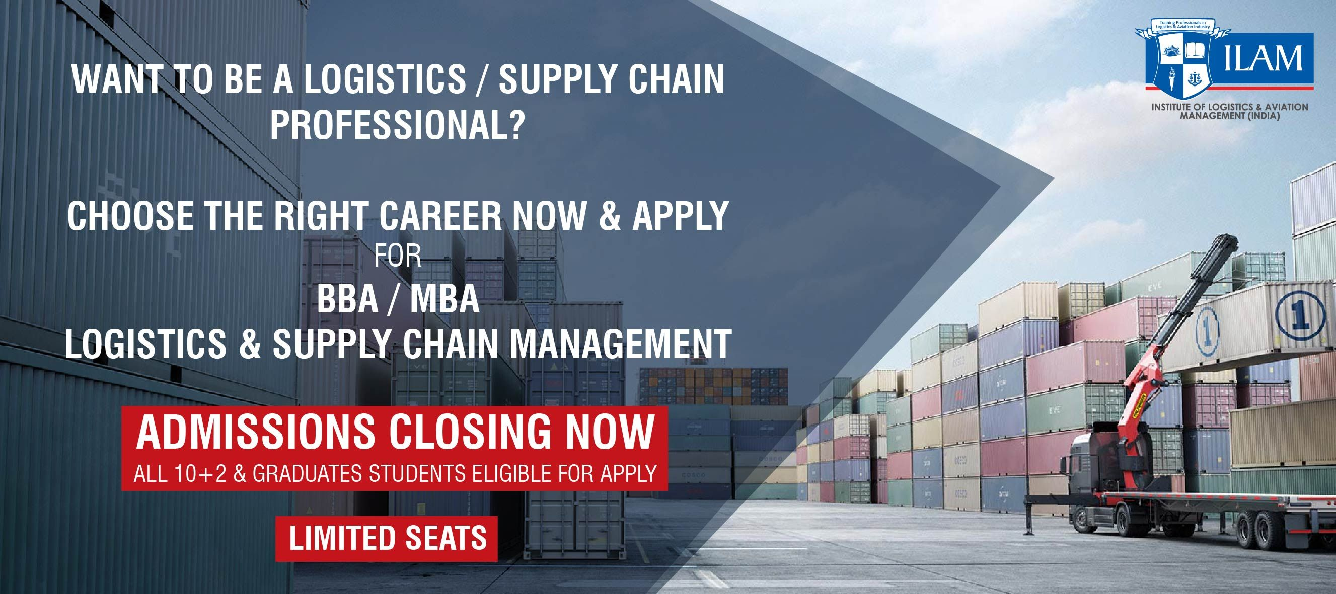 Join The In Demand Logistics Industry Admissions Closing Now For