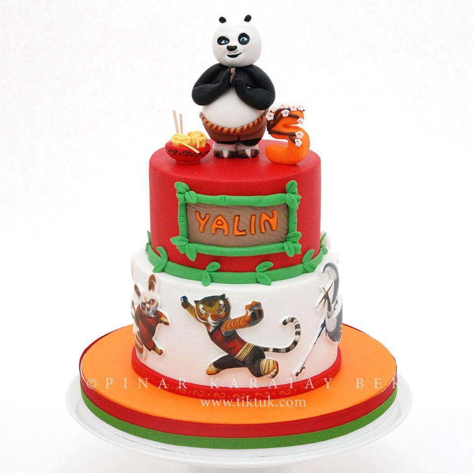 Кунфу панда картинка на торт