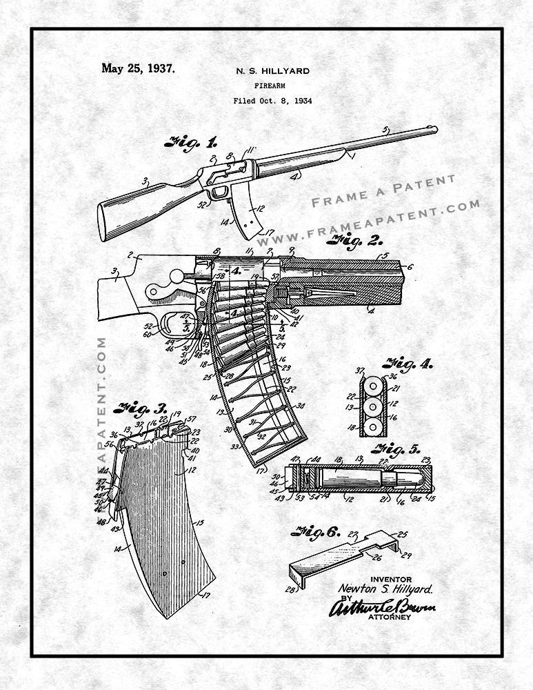 Firearm Patent Print