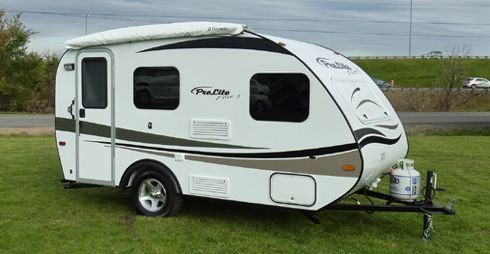 manufacturer of ultralight travel trailers roulottes prolite - Small Camper Trailer