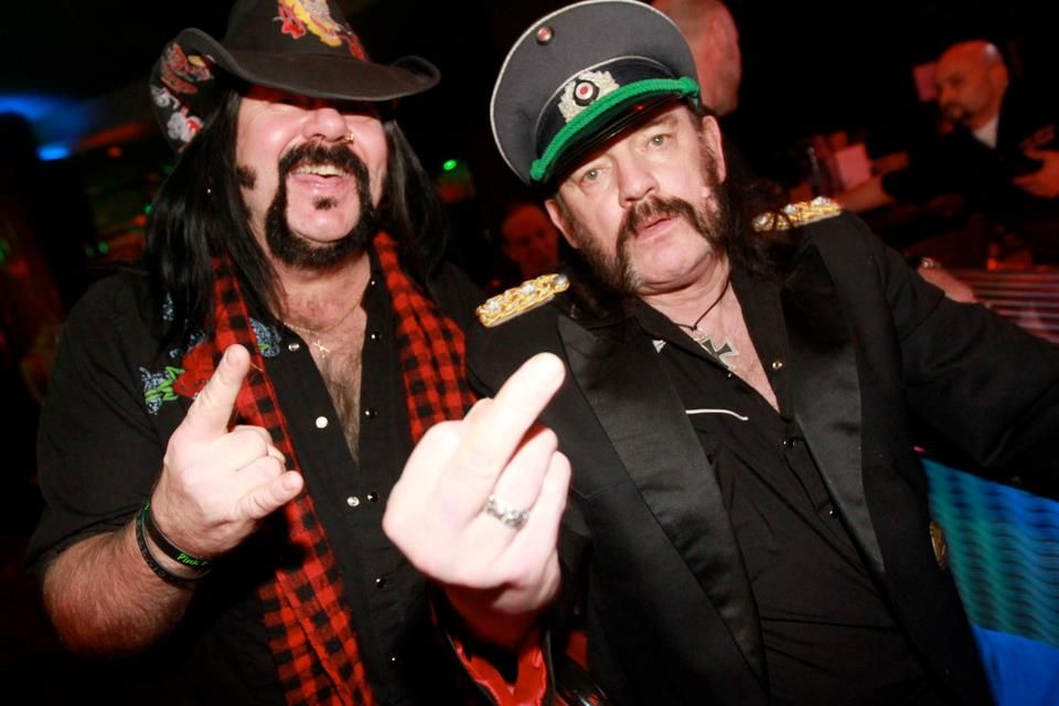 Vinnie Paul & Lemmy.