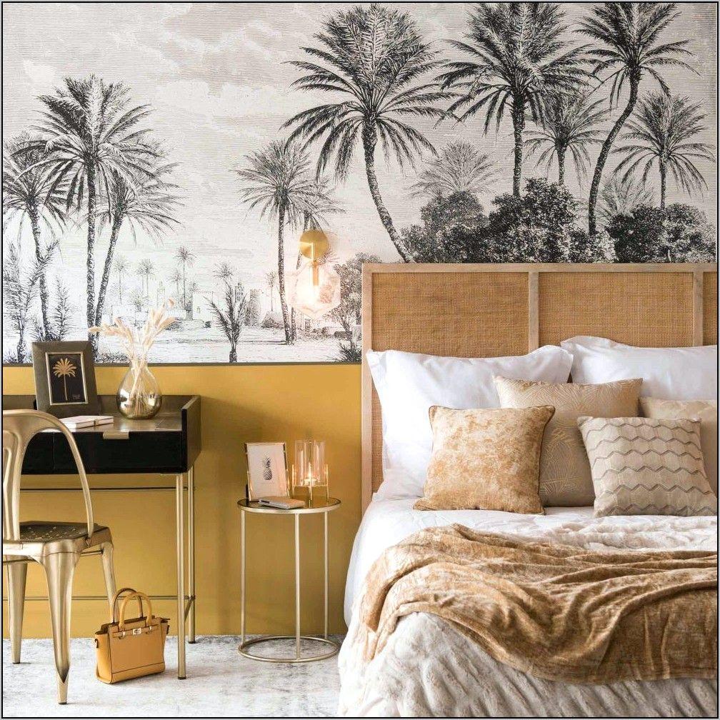 Deco Chambre Noir Et Or Et Palmier in 20  Woman bedroom, Design