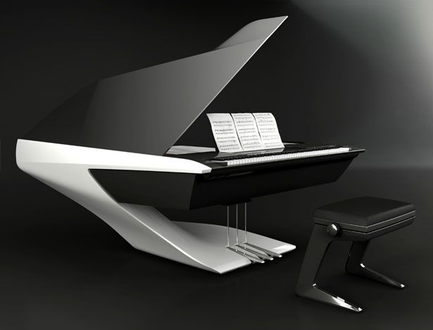 Gorgeous Piano By Peugeot Design Lab
